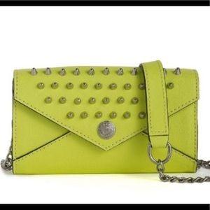 Studded Wallet on a Chain - Mini' Crossbody Bag